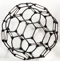 Kit #7b, Fullerene C-60 with double bonds