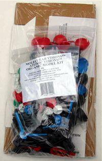 KIT #3AV with ATOM VISIONSTM BALLS --MOLECULAR VISIONS Organic Kit
